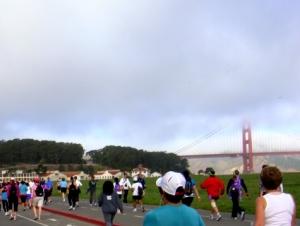 霧の金門橋