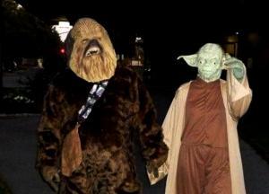Chewie & Yoda