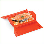 Lekue Silicone Steam Case for Oven & Microwave