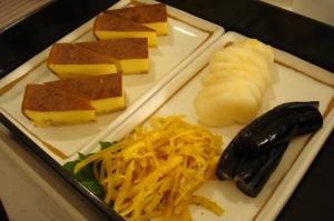 江戸前卵焼き&お漬物